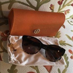 NEW Tory Burch TY 7095 Tortoise Shell Sunglasses